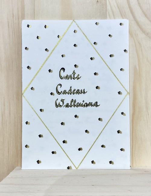 La carte cadeau Walleriana