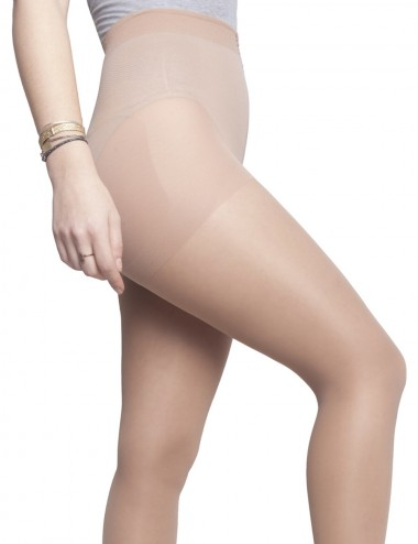 Essential tights - sheer sand, improve blood & lymphatic circulation