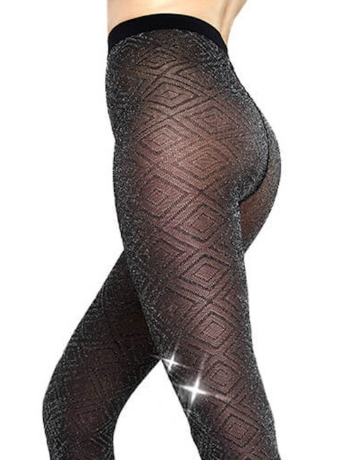 Glitter tights Aphrodite by Solidea - tired legs, venous deficiency