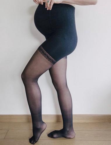 Le collant maternité Solidea 70 den - jambes fatiguées, cellulite, rétention d'eau