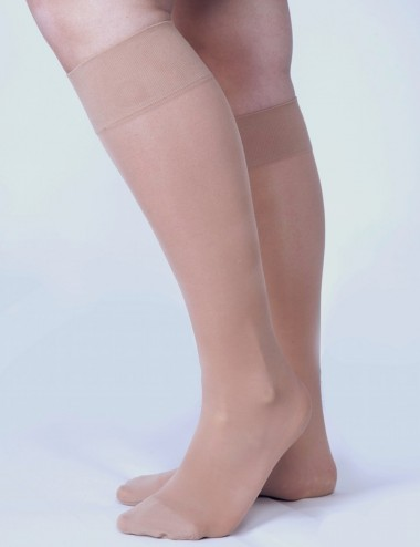 Invisible compression knee-highs - goodbye heavy legs during summer