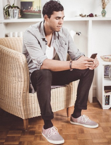 Unisex support socks - tired, heavy or swollen legs, Take me to New-York noir