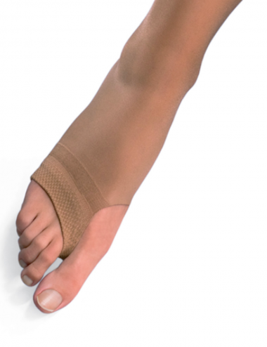 Open toe tights with compression by Solidea - avoid heavy legs during summer, stimulates blood circulation