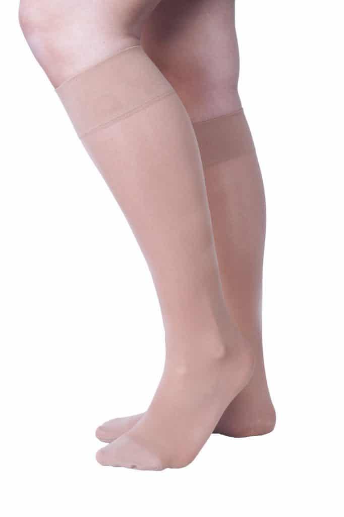 chaussettes de contention invisibles pour l'été