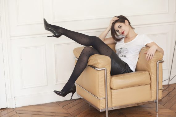 gambettes sensuelles - collants de contention glamour par Walleriana