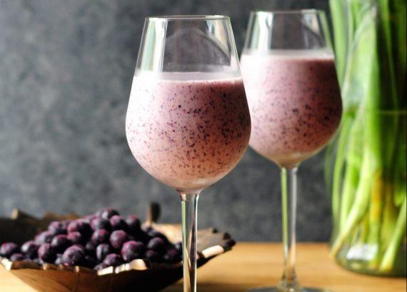 Smoothie Blueberry Banane : le petit déjeuner vitaminé à boire